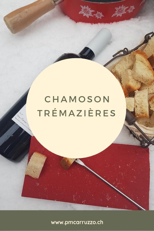 Chamoson Trémazières