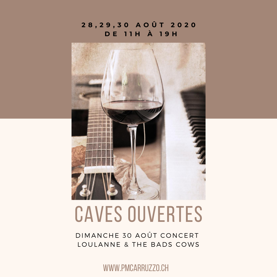 Promotion Caves Ouvertes 2020